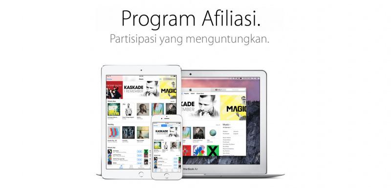 Apple Akan Hilangkan App Store dari iTunes Affiliate Program