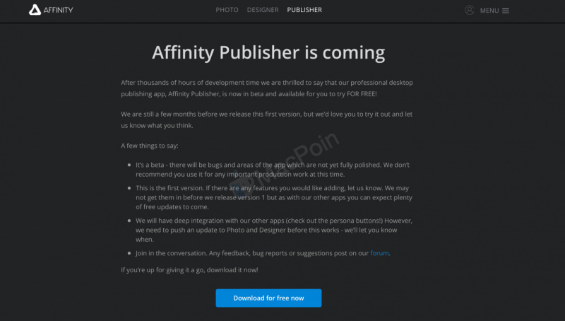 Cara Download dan Install Affinity Publisher Gratis