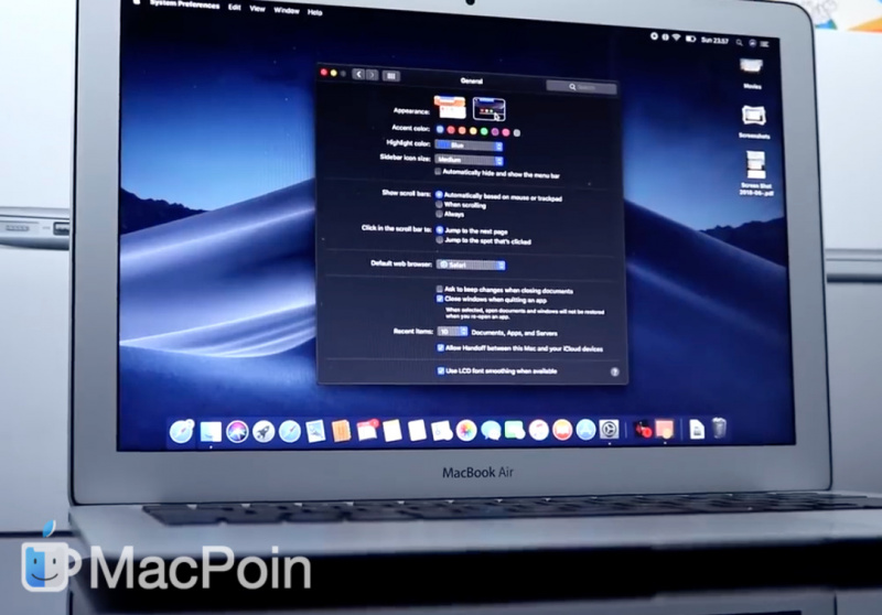 Apple Rilis macOS Mojave Beta 7 ke Developer Terdaftar