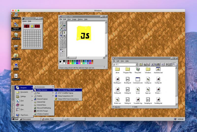 Kini Kamu Bisa Jalankan Windows 95 di Mac, Langsung Pakai Tanpa Install