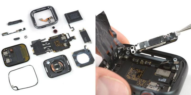 Dibedah iFixit, Apple Watch Series 4 Ternyata Mudah Diperbaiki