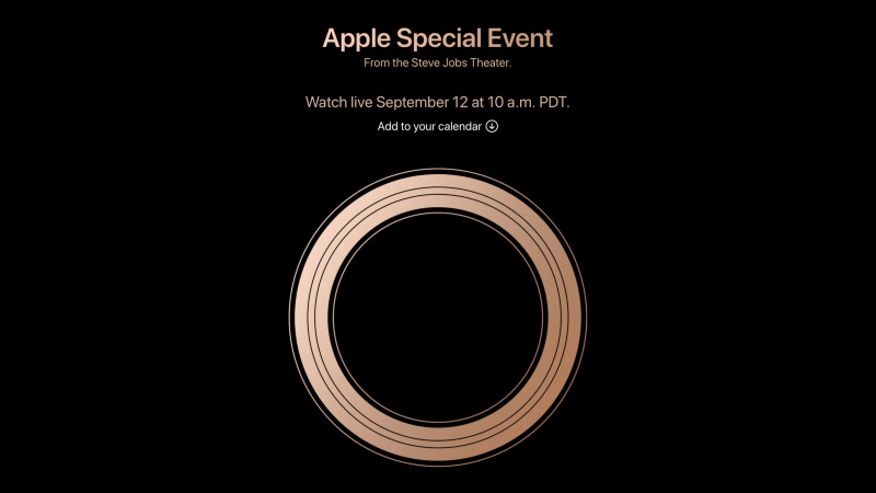 Cara Live Streaming Apple Event 12 September 2018