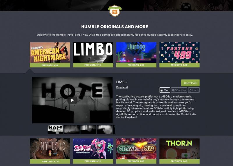 Download 9 Game Keren Ini Gratis dari Humble Trove