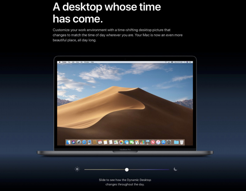 Apple Rilis macOS Mojave 10.14.1 Public Beta 1