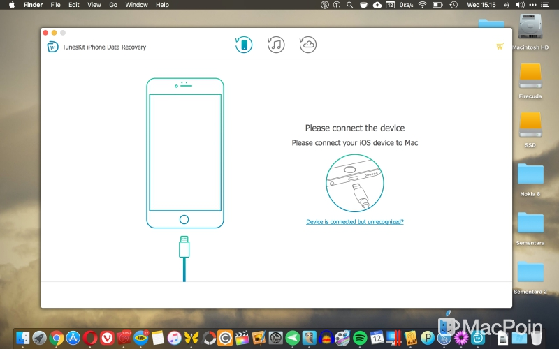 Review: Tuneskit iPhone Data Recovery untuk Mac