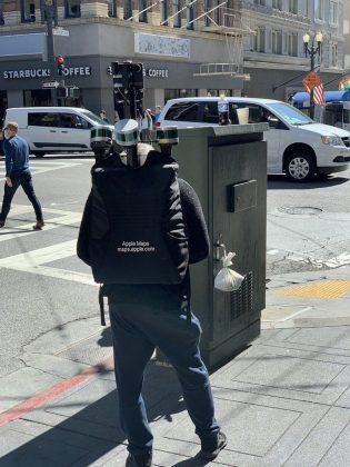 Pekerja Apple Maps Terlihat Sedang Merekam Jalanan San Francisco