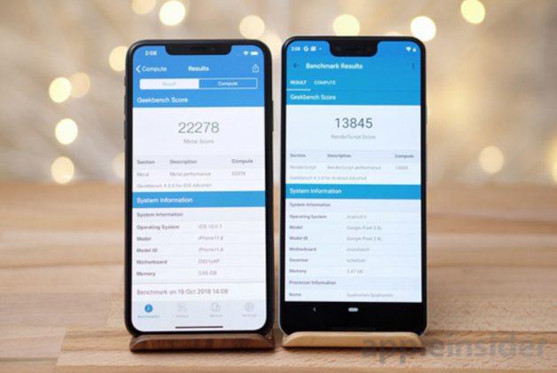 Skor Benchmark Pixel 3 Kalah dari iPhone XS Max