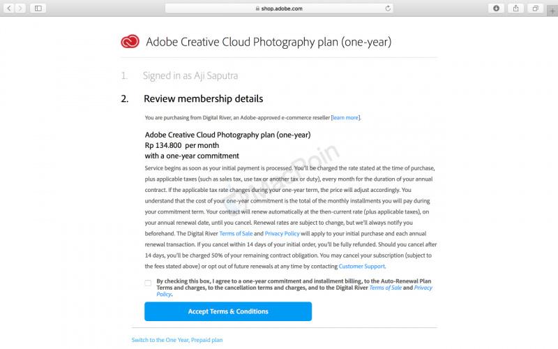 Cara Aktivasi Adobe Photoshop CC 2018