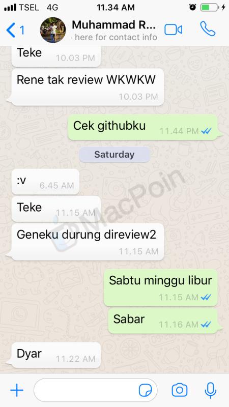 Cara Mengirim Stiker di Chat WhatsApp