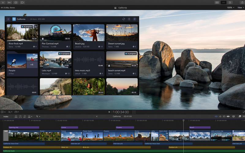 Final Cut Pro X Kini Support Workflow Extensions