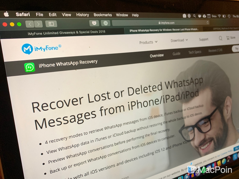 Giveaway: iPhone WhatsApp Recovery dan iPhone Backup & Exporter