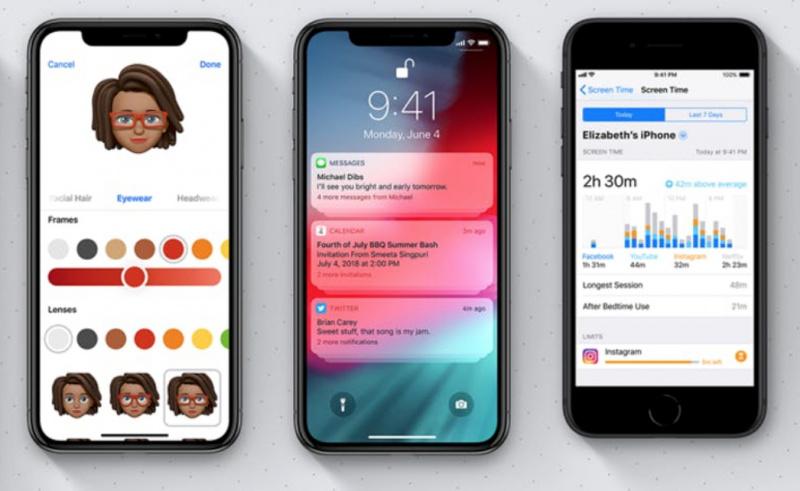 Apple Hentikan Jalur Downgrade ke iOS 12.0.1