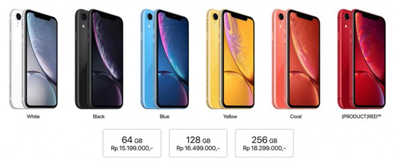 Inilah Harga Resmi dari iPhone XR di Indonesia