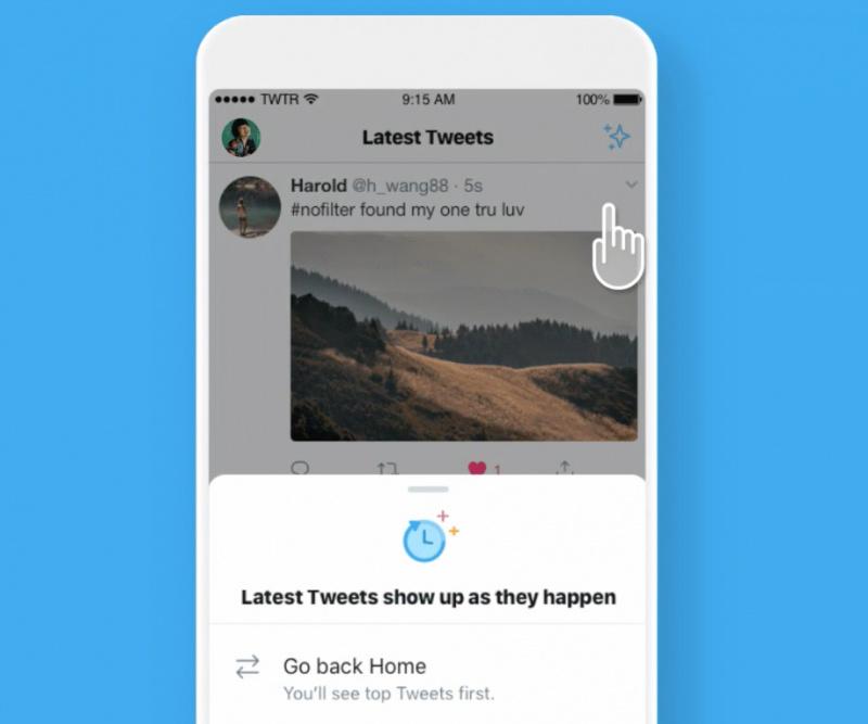 Update Twitter for iOS Kembalikan Timeline Urutan Kronologi
