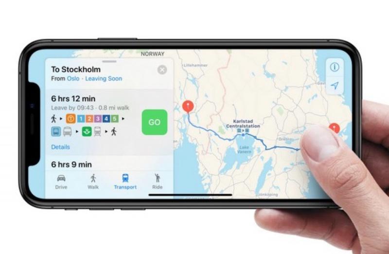 Fitur Transit Apple Maps Kini Hadir ke Denmark, Swedia, Norwegia, dan Finlandia