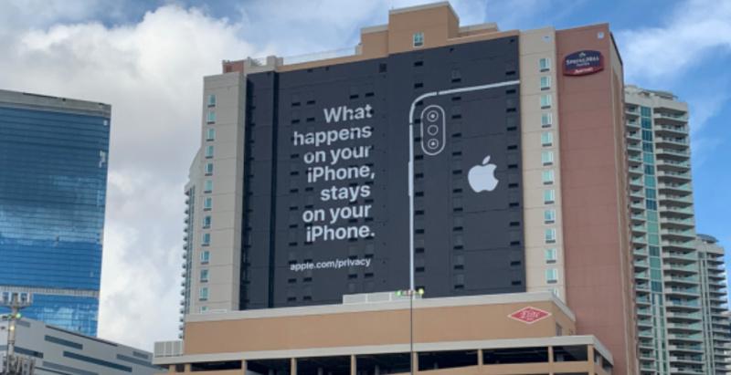 Iklan Apple di CES Sindir Masalah Privasi Data Pengguna