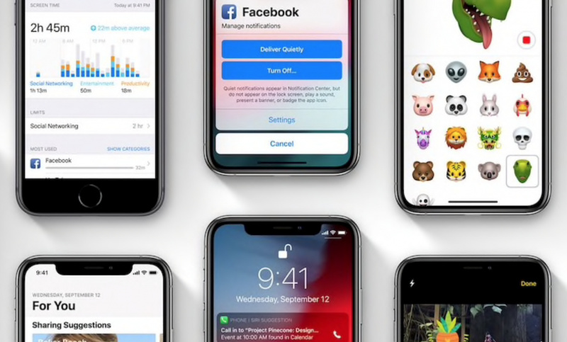 Apple Ketahuan Sedang Menguji Coba iOS 13 Terbaru