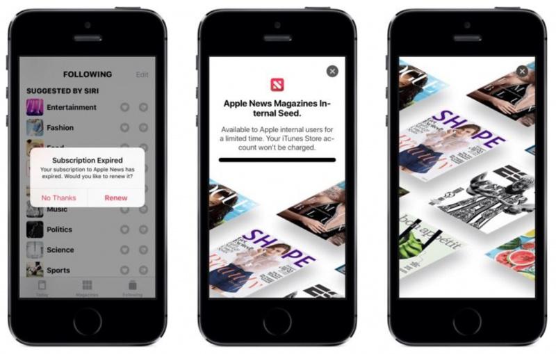 iOS 12.2 Bocorkan Layanan Berlangganan Majalah di Apple News