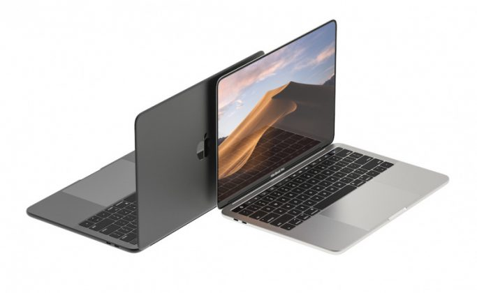 Konsep MacBook Pro dengan Face ID dan Layar Penuh