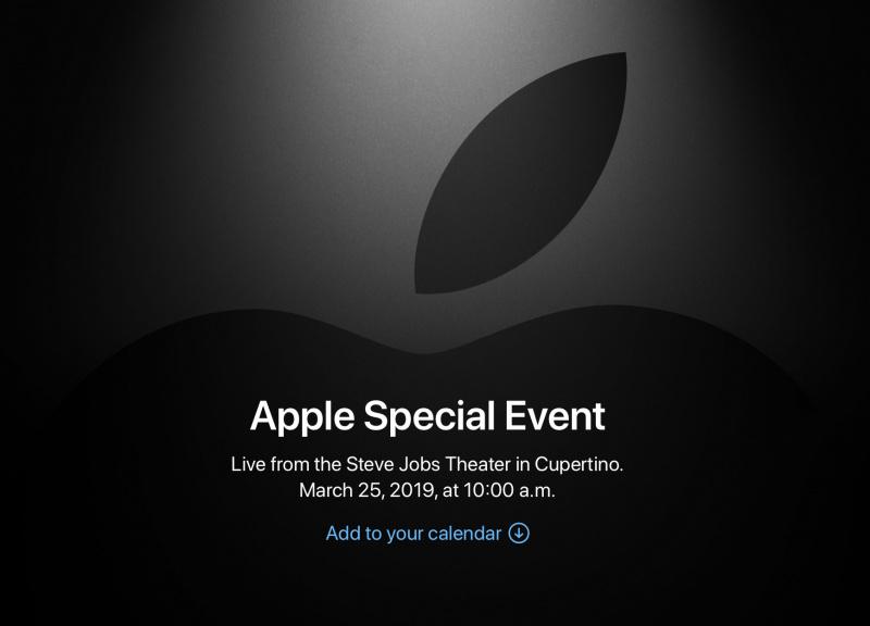 Apple Akan Gelar Apple Special Event 25 Maret 2019