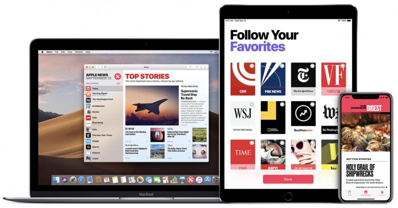Potongan Kode Program Ungkap Layanan Berlangganan di Apple News