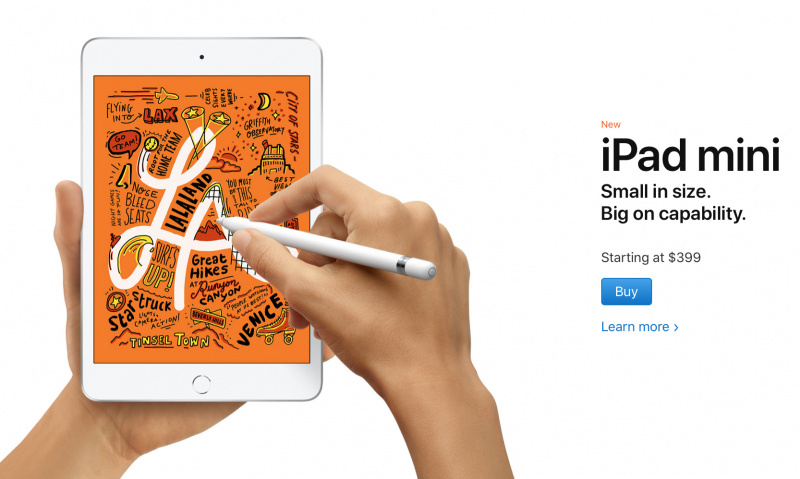 Apple Resmi Rilis iPad Air 10.5 Inch dan iPad Mini Baru di 2019