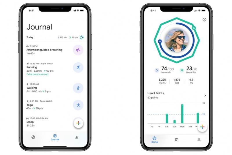Google Fit Kini Mendukung iOS, Apple Watch, dan Health App