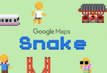 Cara Main Game Snake di Google Maps di iOS