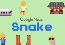 Cara Main Game Snake di Google Maps di iOS