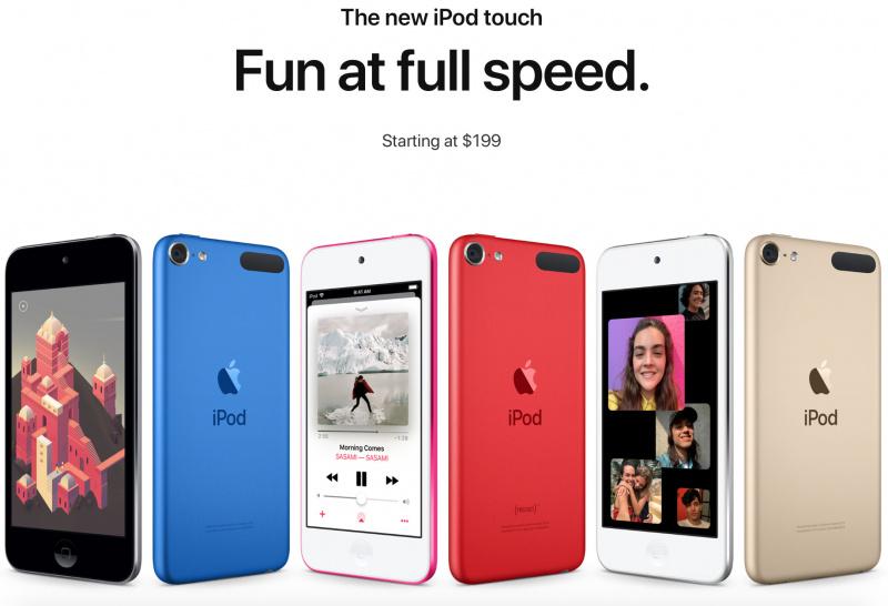 Apple Resmi Rilis iPod Touch 7, Harga Super Murah