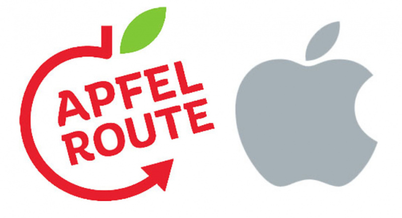 Apple Gugat Apfelroute Karena Punya Logo Mirip