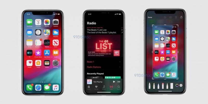 Bocoran iOS 13 Tunjukkan Dark Mode yang Keren Abis
