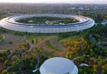 Ada Bangunan Pelangi Misterius di Apple Park, Apaan Tuh?