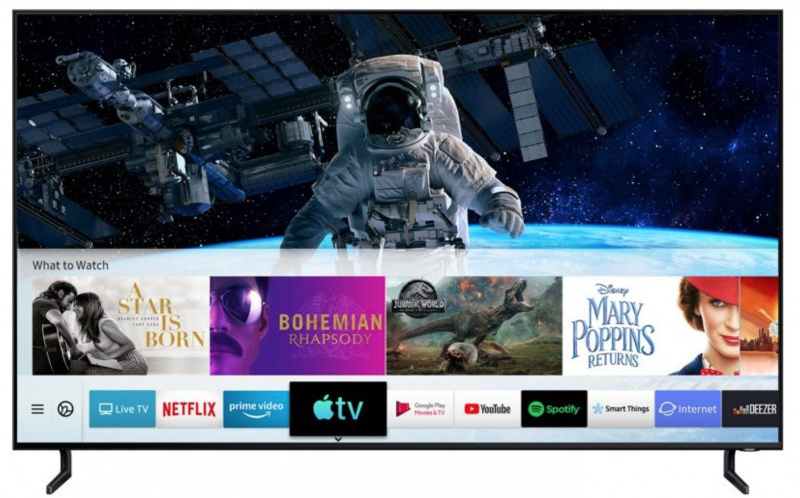 Apple TV App dan AirPlay 2 Dirilis ke Samsung Smart TV
