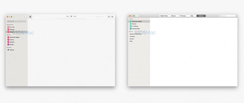 Eksklusif: Bocoran Aplikasi Musik dan TV di macOS 10.15
