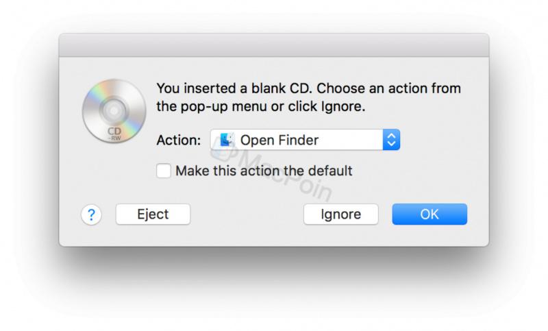 Cara Bakar atau Burn CD dan DVD di Mac dan MacBook