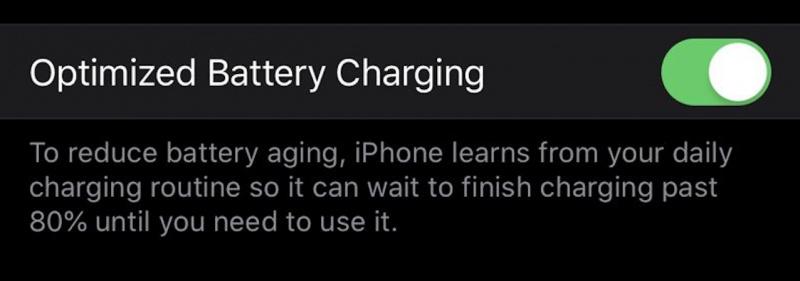 Update iOS 13 Punya Sistem Optimalisasi Baterai Baru