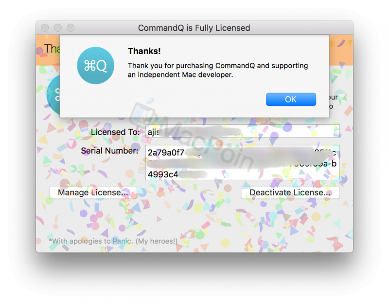 Review CommandQ 2, Cegah Command + Q Tak Sengaja di Mac