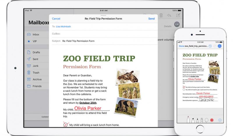 Pengguna macOS Catalina Bisa Bikin Tanda Tangan di iPhone dan iPad