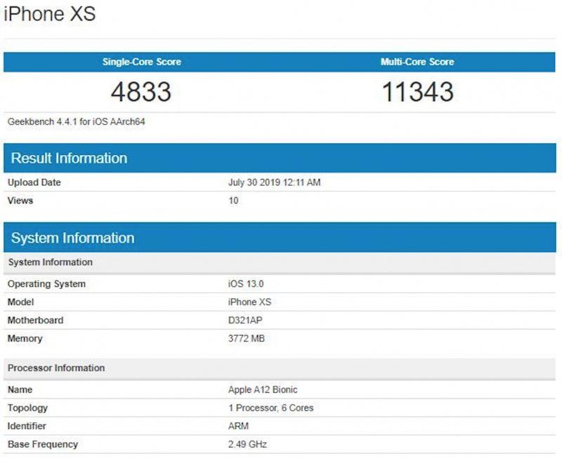 Performa iPhone XS Diklaim Lebih Baik Dari Galaxy Note 10