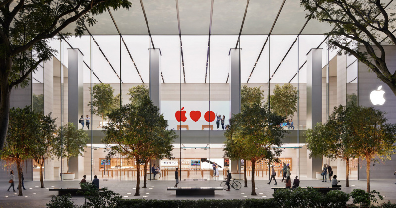 Apple Siap Buka Apple Store Baru Singapura di Jewel Changi Airport