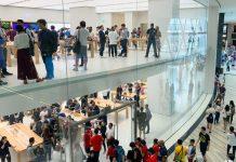 Apple Store Kedua di Singapura Kini Resmi Dibuka