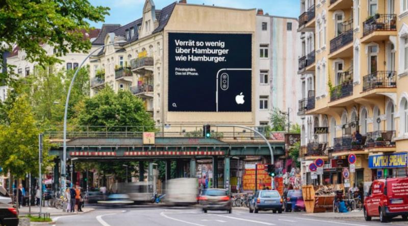 Apple Ngiklan di Reklame Terkait Privasi di Eropa