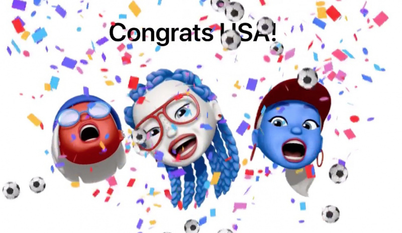Amerika Serikat Juara Piala Dunia Wanita, Apple Rilis Memoji Spesial