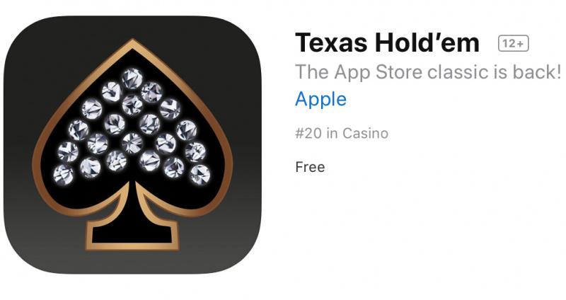Akhirnya Game Texas Hold'em Dirilis Lagi ke App Store