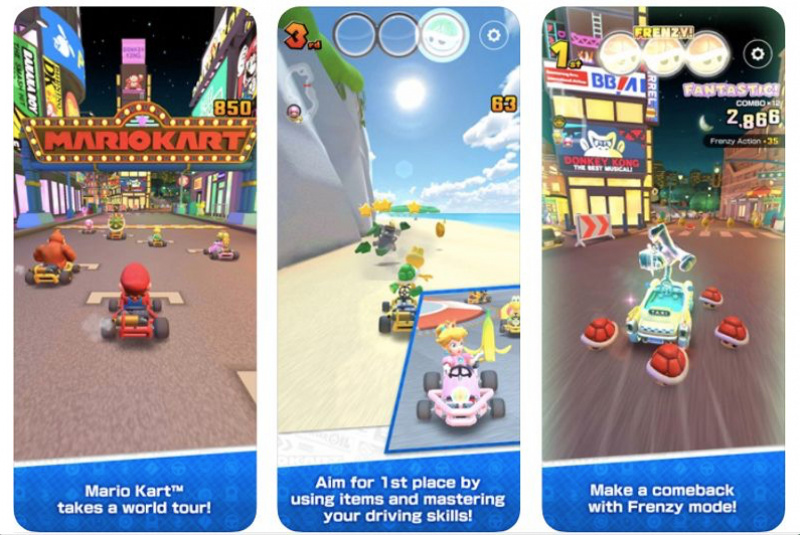 Pre-Order Mario Kart Tour for iOS Sudah Dibuka