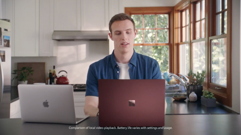 Rilis Iklan Surface Laptop 2, Microsoft Sindir Apple
