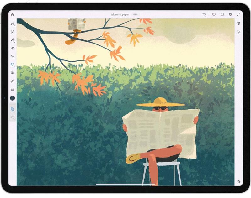 Adobe Fresco Resmi Dirilis Untuk Perangkat iPad