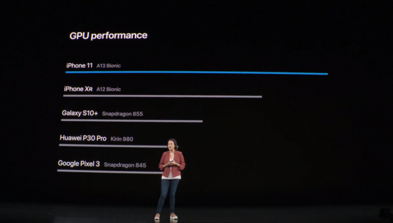 Benchmark iPhone 11 Makin Jauh Tinggalkan Galaxy S10