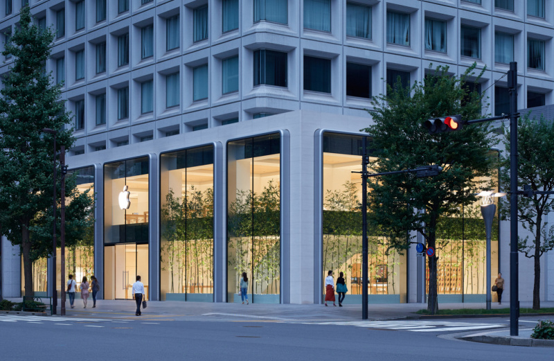 Apple Store Marunouchi Kini Resmi Dibuka di Jepang